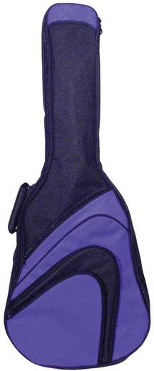 Gitár táska ¾, fekete/kék, MSA Musikinstrumente GB 180