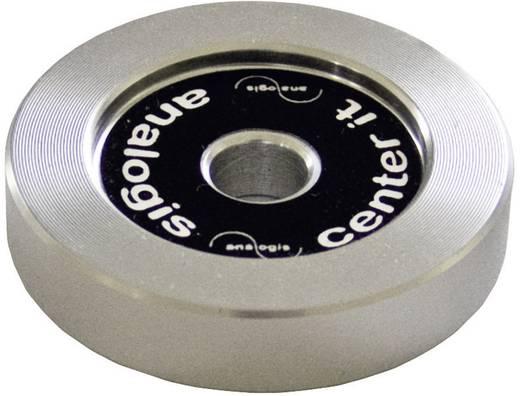 """Kislemez központosító gyűrű, adapter bakelit lemezekhez, fém Analogis """"Center it"""" 8105"""