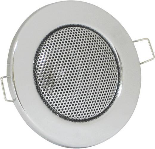 Mennyezetbe építhető hangszóró ezüst színben 60 mm