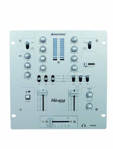 Keverőpult, DJ mixpult OMNITRONIC PM-404 DJ-Mixer