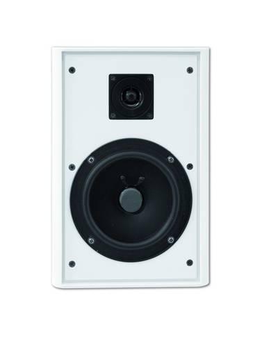 Lapos fali hangszóró fehér színben Omnitronic FPS-5