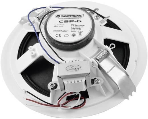 Mennyezetbe építhető hangszóró Omnitronic CSP-6