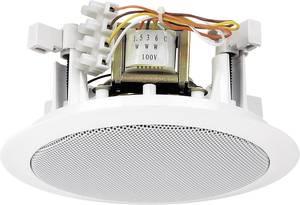 ELA beépíthető hangszóró Monacor EDL-24 6 W 100 V Fehér 1 db Monacor