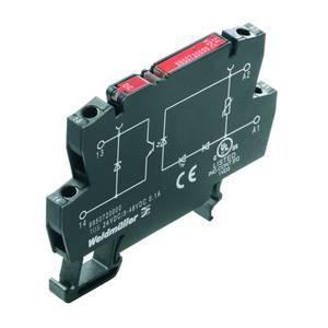 Weidmüller Optocsatoló relé 10 db TOS 120VAC/48VDC 0.5A RC Terhelési áram (max.): 0.5 A Kapcsolási feszültség (max.): 48 Weidmüller