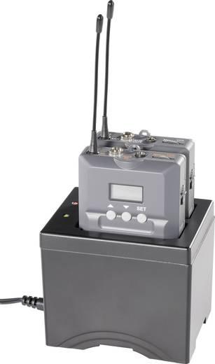 Töltőállomás vezeték nélküli mikrofonokhoz Mc Crypt RC-02 Tourguide
