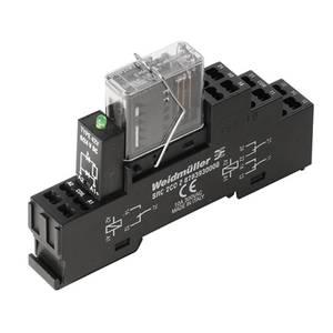 Relé modul 10 db Weidmüller RCIKITZ 24VDC 2CO LD/FG Névleges feszültség: 24 V/DC Max. kapcsolási áram: 6 A 2 váltó Weidmüller