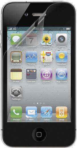 Kijelzővédő fólia Apple iPhone® 4/4S készülékekhez 2db Renkforce IP4-001