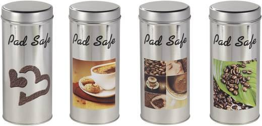 Xavax Kávépárna tároló doboz, ezüst színű, Padsafe 00111132