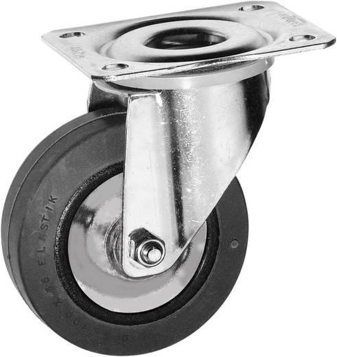 Forgó görgő, rack és hangfal görgő, tömörgumi kerékkel Ø 100 mm Y96637