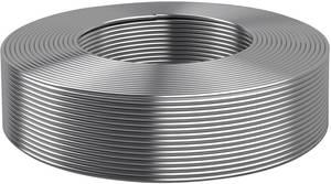 Kerek ónozott réz drót Ø 1,5 mm, ezüst Kabeltronik 000115000 Kabeltronik