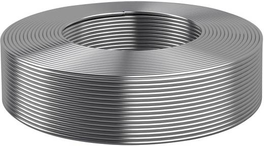 Ónozott kerek réz drót Ø 0,5 mm, ezüst 0.2 mm²