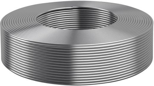 Ónozott kerek réz drót Ø 0,5 mm, ezüst Kabeltronik