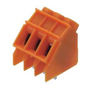 Csavaros szorító blokk Narancs 1595750000 Weidmüller Tartalom: 100 db Weidmüller