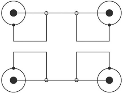 Kábel 2 RCA/2 RCA fekete 0,5 m SPEAKA
