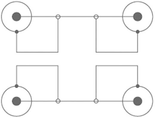 Kábel 2 RCA/2 RCA fekete 2,5 m SPEAKA