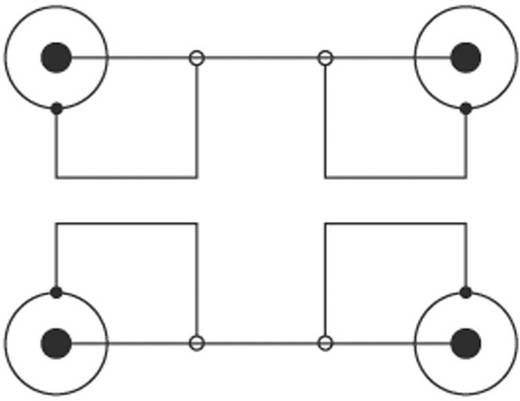 Kábel 2 RCA/2 RCA fekete 15 m SPEAKA