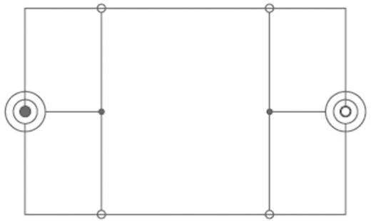 Jack hosszabbító kábel, 1x 3,5 mm jack dugó - 1x 3,5 mm jack aljzat, 2,5 m, fekete, SpeaKa Professional 325051