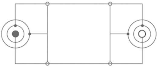 Jack hosszabbító kábel, 1x 6,35 mm jack dugó - 1x 6,35 mm jack aljzat, 5 m, fekete, SpeaKa Professional 325054