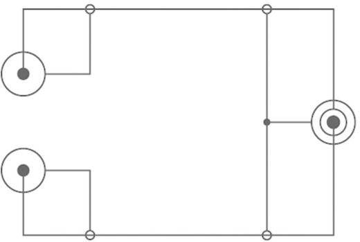 Kábel 3,5 mm jack/2 RCA fekete 1,5 m SPEAKA