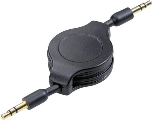 Felcsévélhető kábel 3,5 mm jack 1,1 m SPEAKA