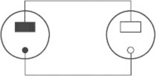 Hangszóró hosszabbító kábel, 1x hangszóró dugó - 1x hangszóró aljzat, 2,5 m, fekete, SpeaKa Professional 325088
