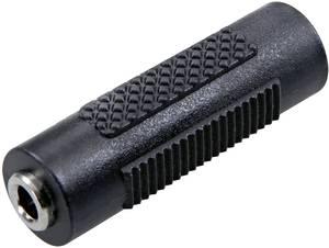 Sztereó 3,5 jack közösítő adapter, fekete, SpeaKa Professional 50118 SpeaKa Professional