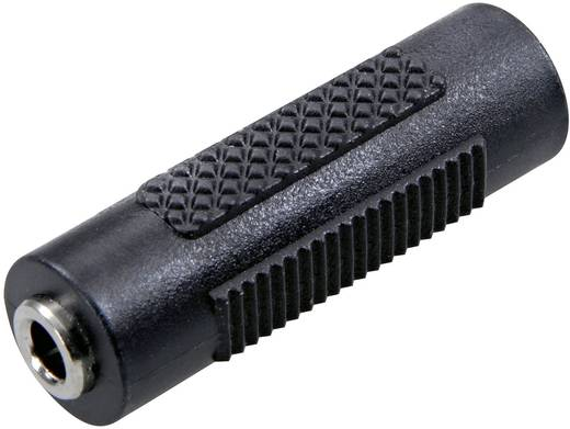 Sztereó 3,5 jack közösítő adapter, fekete, SpeaKa Professional 50118
