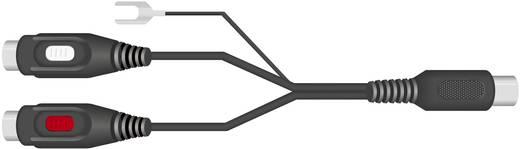 2 x RCA alj/5 pólusú DIN dugó adapter földelő vezetékkel, SpeaKa 50099