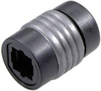 Digitális optikai audio közösítő adapter, 1x Toslink aljzat - 1x Toslink aljzat, fekete, Speaka Professional SpeaKa Professional