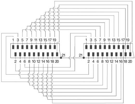 SCART dugó/dugó kábel, 5 m, 21 pólusú bekötés, fekete, SpeaKa Professional 50141