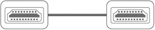 Nagy sebességű HDMI kábel dugó/dugó, 1,5 m, fehér, SpeaKa Professional 50215