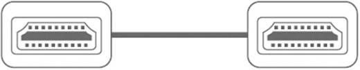 Nagysebességű HDMI kábel dugó/dugó, 1,5 m, fekete, SpeaKa