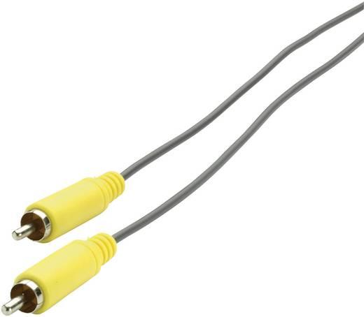 RCA audio kábel, dugó - dugó, 3 m, sárga/szürke, SpeaKa 50305