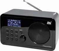 URH- és internetrádió, WLAN, fekete, DNT IP Diamond dnt