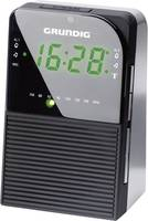 Rádiójel vezérlésű rádiós óra, Grundig Sonoclock 790, Fekete Grundig