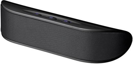 Hordozható mini hangfal MP3 lejátszóhoz, okostelefonhoz, notebookhoz, fekete/szürke, Cabstone Soundbar