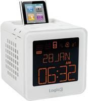 Logic3 i-Station TimeCube rádiós ébresztő, fehér, Fehér Logic3