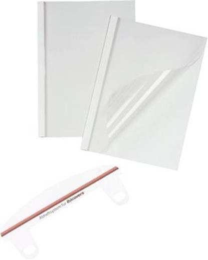 GBC ThermaBind Optimal hőkötő borító, gerincvastagság: 6 mm, lapkapacitás 50 lap, kiszerelés: 100 db, GBC TC080670