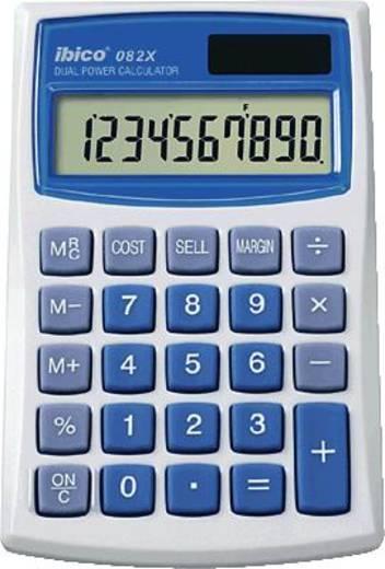 Zsebszámológép, világosszürke/kék, 8 karakteres, GBC IBICO 082 X, IB410017
