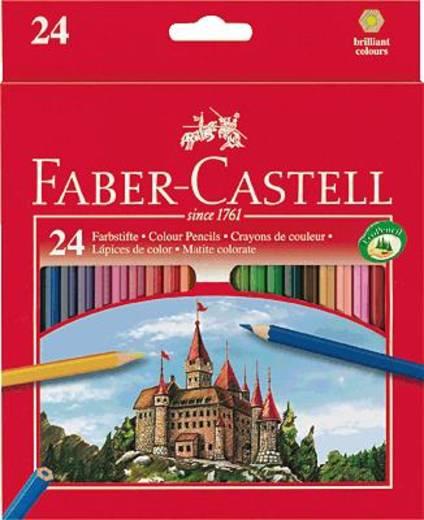 FABER-CASTELL színes ceruza, Fighting Knights, 24 db-os karton/111224, 24 db