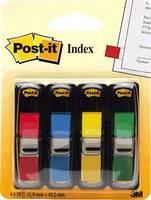 Post-it Oldaljelölők 7000144923 4 tömb/csomag Piros, Sárga, Zöld, Kék Post-it