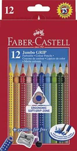 FABER-CASTELL Jumbo Grip színes ceruzák/110912 szortírozva, 12 db