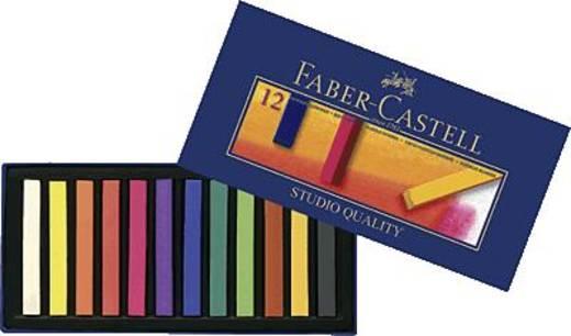 Pasztellkréta, 12 darab, Faber-Castell Goldfaber Studio 128312