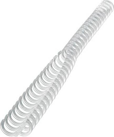 Spirál ibico 34 gyűrű, 8 mm 45 lap frostedclear/387302E átlátszó, tart. 50