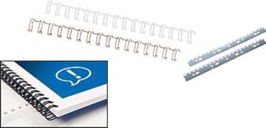 GBC WireBind, 34 gyűrűs, 14mm fehér/RG810970, 14 mm, tartalom: 100