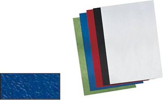 GBC ProView bőrmintázatú karton, A4, 250g/m², sötétzöld/CE040045, tartalom: 100