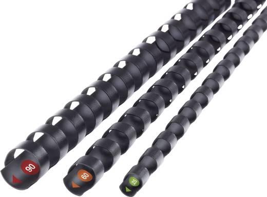 GBC ProComb Műanyag spirál, A4 fekete, 19 mm, 160 lap, 100 db, GBC 4400329