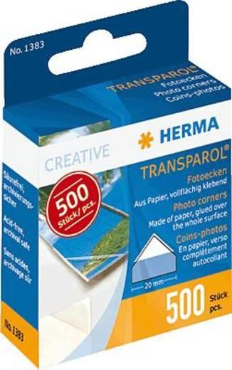 Fényképragasztó sarkok, 500 db, Herma VE500 1383
