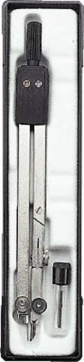 Körző, matt nikkelezett, Ecobra 380075