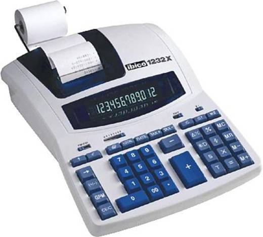 Asztali szalagos számológép, GBC IBICO 1232X, IB404108